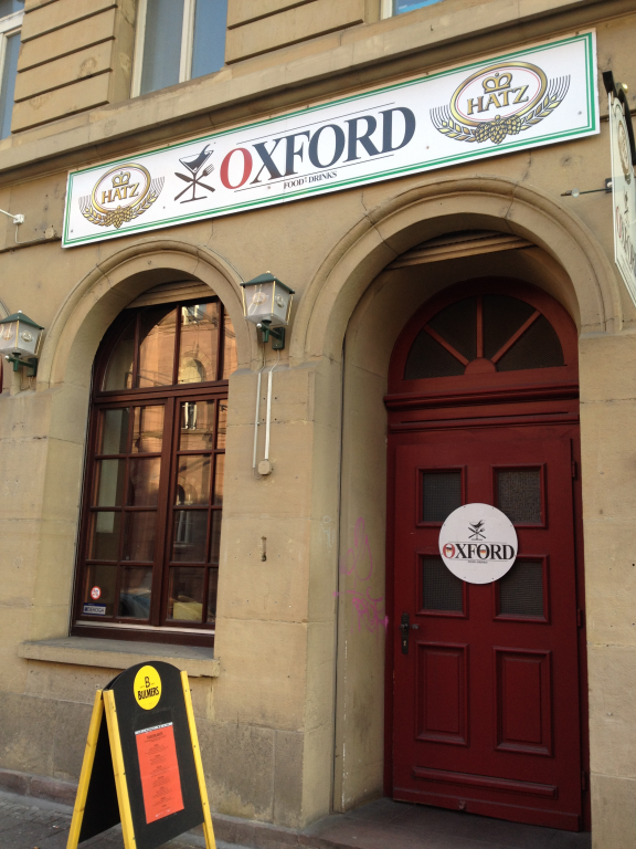 Oxford Cafe Kaiserstraße 57 76133 Karlsruhe Innenstadt Cubede