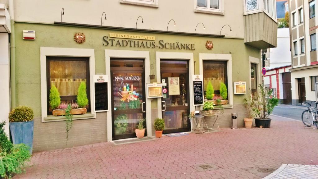 Stadthaus Schänke - Stadionerhofstraße 1, 55116 Mainz - Altstadt ...