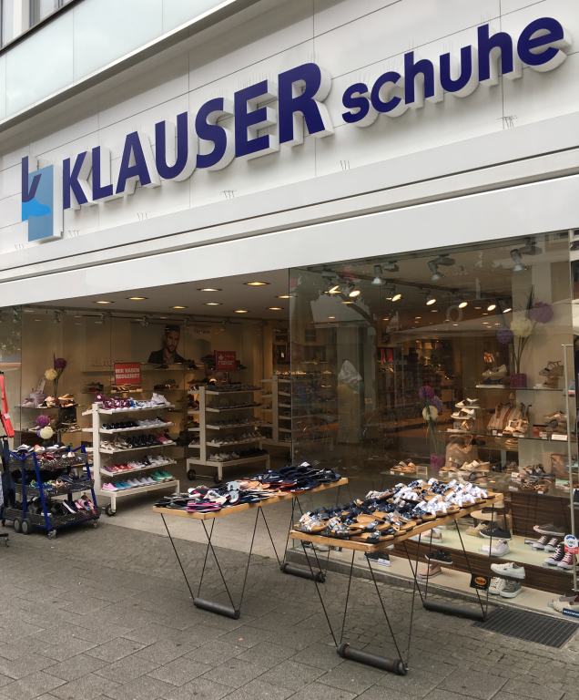 Schuhhaus Klauser Hauptstraße 65, 42651 Solingen Mitte